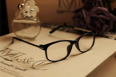 Fashion New Designer Vintage Retro glasses Clear Lens Nerd Geek Eyewear Eyeglass