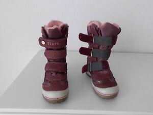 new style 0d5e8 1b601 Details zu Snowboot Winterstiefel Stiefel Boots von STUPS-TEX Mädchen Gr.25