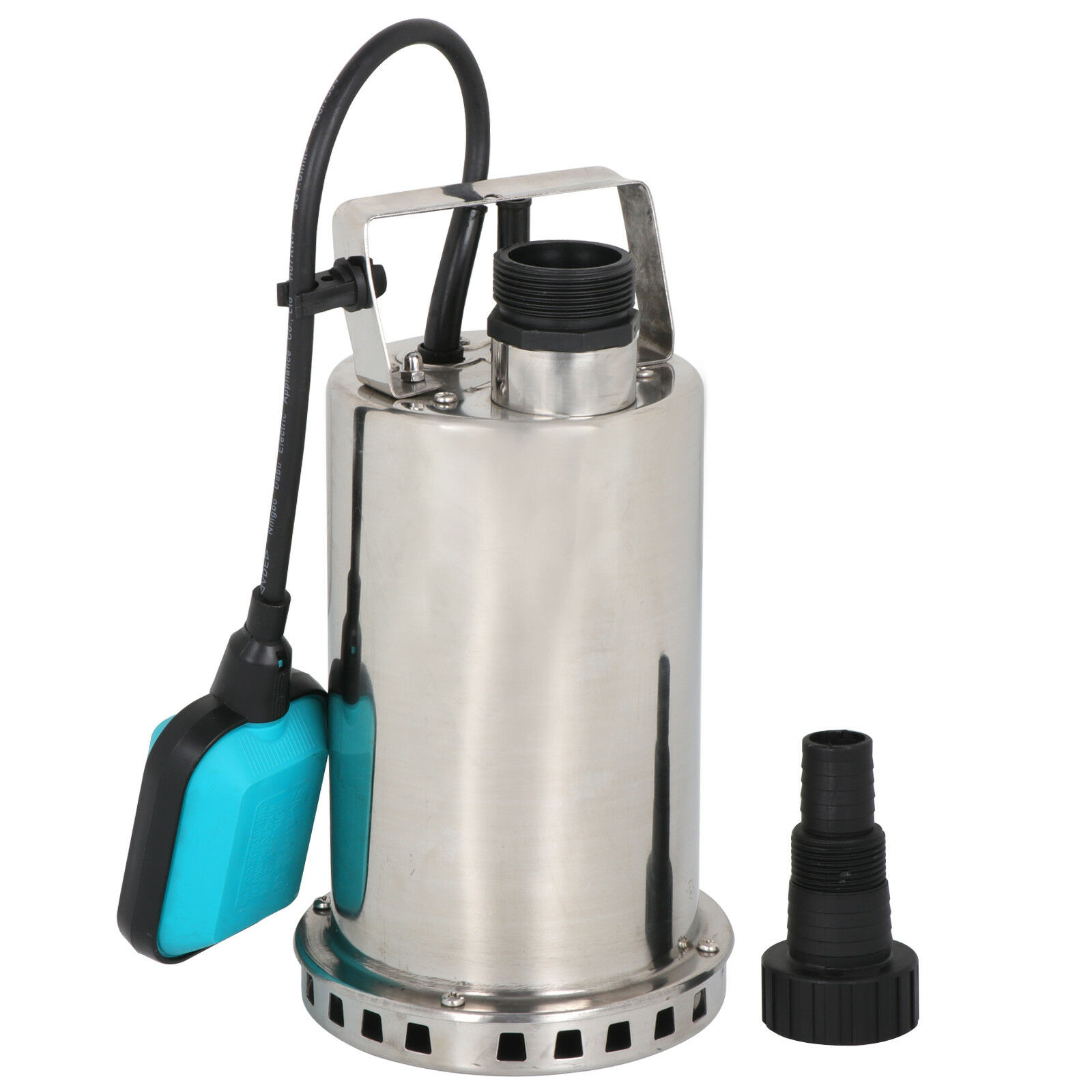 3000gph 1hp Submersible Pump 750w Dirty Water Sump W Automatic Float Switch 3 Of 11
