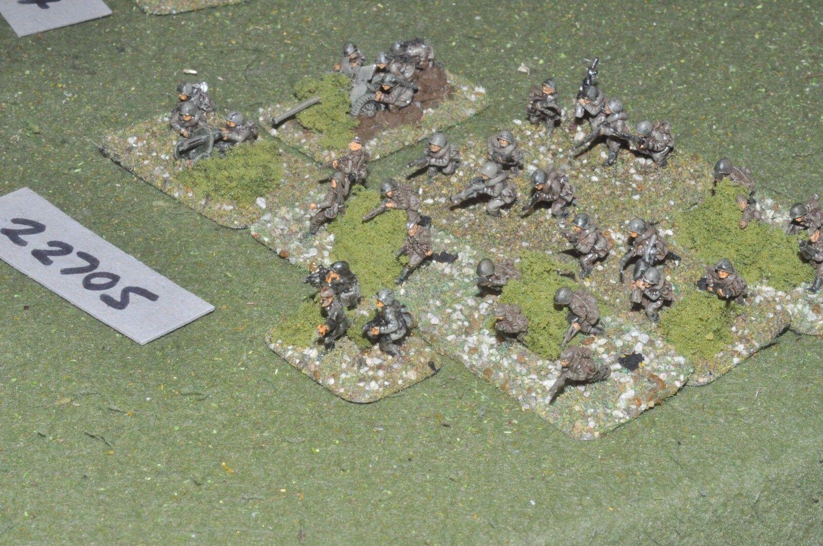 15mm WW2   russian - battle group inf world war 2 - inf (22705)