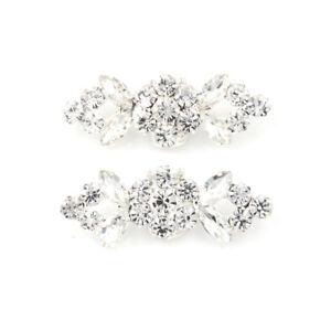 2Pcs-Pair-Shoes-Clips-Rhinestone-Crystal-Flower-Buckle-Bridal-Wedding-Decor-S-amp-K