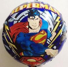"♛ Shop8 : SUPERMAN 18"" FOIL BALLOON Theme Party Needs Decor"
