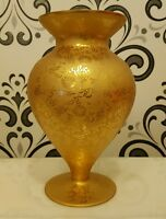 Dekoration VASE Gold gross Kristall London.