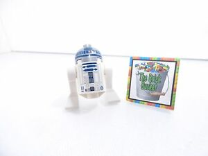 Lego Star Wars minifigure R2-D2 R2D2 with Flat Silver Head droid minifig