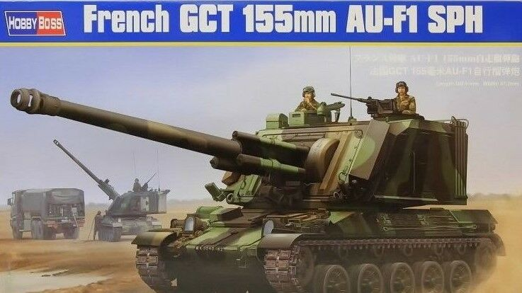 Hobby boss french gct 155mm au-f1 sph