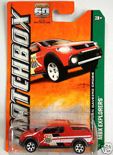 Matchbox VW Volkswagen Saveiro Cross Off Road Pickup - red