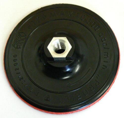 für Winkelschleifer Stützteller D 125mm x M14 mit Haftrücken