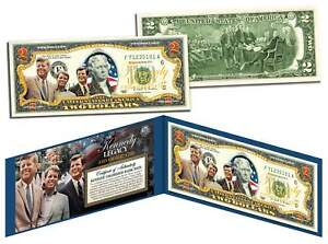 KENNEDY-BROTHERS-LEGACY-Colorized-2-Bill-US-Legal-Tender-ROBERT-amp-TED-amp-JOHN-F