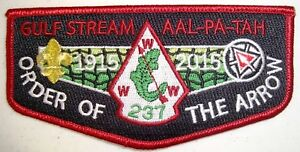 AAL-PA-TAH-237-PATCH-NOAC-2015-OA-100TH-CENTENNIAL-HOST-FLAP-GMY-ONLY-120-MADE
