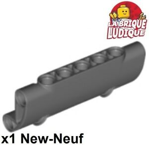 Dark Bluish Gray Technic LEGO x 4 6632  NEUF Liftarm 1x3 Thin