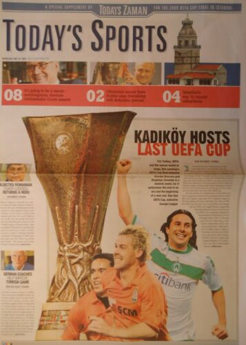 Shakhtar Donetsk Programm Today/'s Sports UEFA Cup Final 2009 Werder Bremen