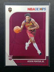 2019-20 Panini NBA Hoops Kevin Porter Jr. RC, Rookie Card, Cavs / Rockets