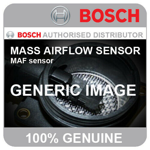 00-08 113bhp BOSCH MASS AIR FLOW METER MAF 0281002757 AUY VW Sharan 1.9 TDI