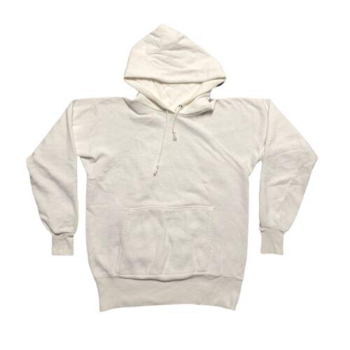 Vintage 50s / 60s Pennleigh Hoodie Sweatshirt Blan