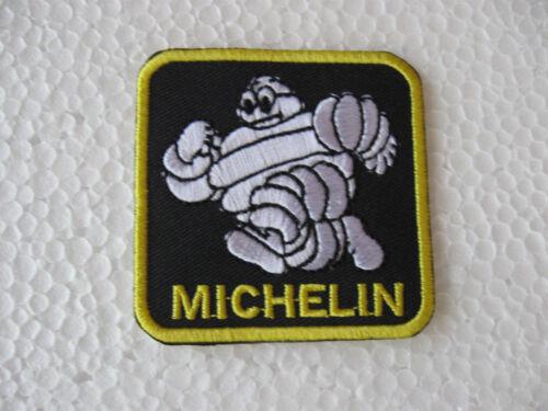 Aufnäher Patch Racing Michelin Motorsport Reifen Tuning Biker Chopper Aufbügler