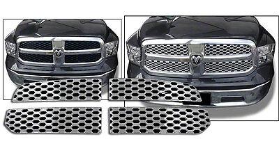 Chrome Grille Overlay for 2013-2015 Dodge RAM 1500 Tradesman Express SLT HFE