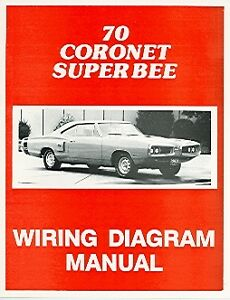 1970 70 DODGE CORONET WIRING DIAGRAM MANUAL | eBay