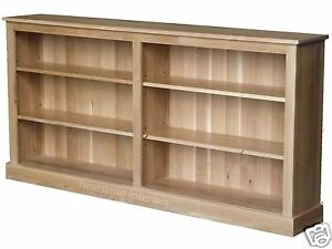 Wonderful  Ercol Windsor  2024 Low Wide Bookcase  All Dining Ranges  Fishpools