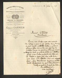 LA-GITONNERIE-18-Ets-de-BATTAGES-GRAINS-amp-GRAINES-034-Clement-GARNIER-034-en-1917