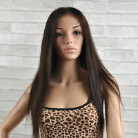 Full Lace Wig 100% Real Indian Remy Human Hair large.medium,small cap 4colors