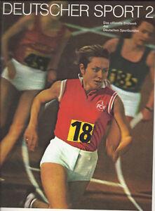 Deutscher Sport 2 Das offizielle Bildwerk des Deutschen Sportbundes 1971 - Asendorf, Deutschland - Deutscher Sport 2 Das offizielle Bildwerk des Deutschen Sportbundes 1971 - Asendorf, Deutschland