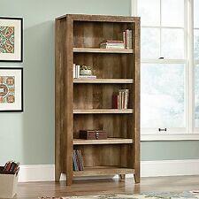 Sauder 418546 Dakota Pass 5-Shelf Bookcase Craftsman Oak New