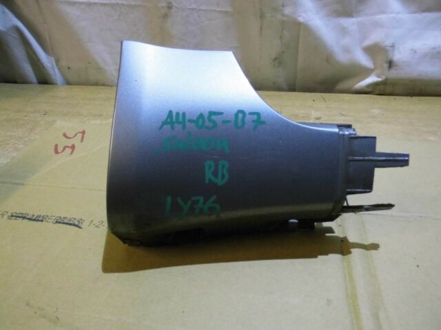 AUDI A4 B7 S LINE RIGHT SKIRT CORNER SILVER LY7G DRIVER SIDE 8E0853580C 2005 >