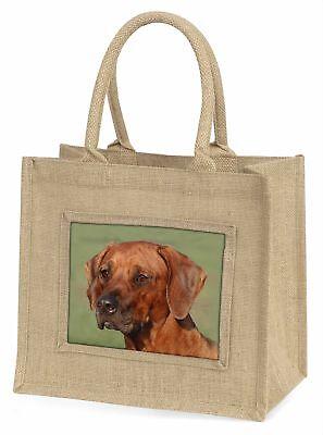 Rhodesian Ridgeback Hund große natürliche jute-einkaufstasche Weihnachtsgeschenk