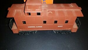 Lionel-Lines-Caboose-6017-1-Brown-O-Scale
