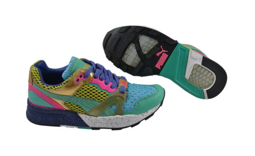 Puma trinomic xt2 plus triangles Blue//Green//sulfur spring Chaussures//Baskets