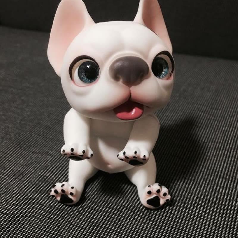 1 12 muñeca de BJD SD muñeca mascota perro Bull libre de Ojos de Maquillaje + Gratis
