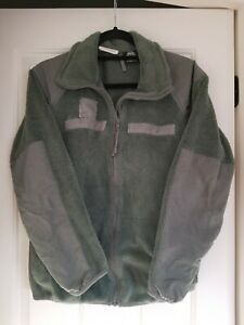 Air Force Sage Green Cold Weather Fleece ABU Jacket USAF Small Short