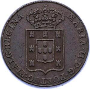O2109-Very-Scarce-PORTUGAL-40-Reis-Miguel-I-1833-AU-gt-Make-offer