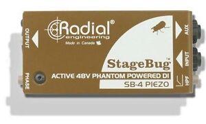 Radial-Engineering-StageBug-SB-4-Piezo-DI-New-2-Day-Delivery