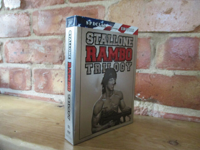 Stallone - Rambo Trilogy - Special Edition - 4 DVD - R1 Import - Metal Slipcase