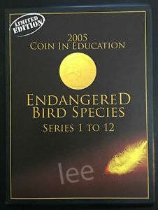Malaysia-Coin-Card-2005-Endangered-Bird-Species-Limited-Edition