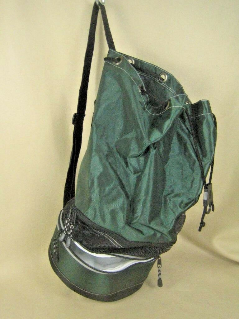 HIGH SIERRA Green Hiking Camping Shoulder Bag with Cooler