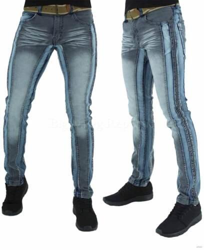 Blue Star G Peviani Men/'s Denim Distressed Jeans Club,Illinois Is Time Money