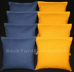 Cornhole Bean Bags Blue Amp Yellow 8 All Weather Corn Hole