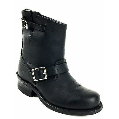 Frye Engineer 12R Short Black Ankle Boot Womens Size US.7. UK.5 EU. 37-38