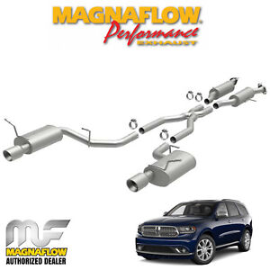 Magnaflow 2 5 Cat Back Dual Exhaust System 2011 2018 Dodge Durango