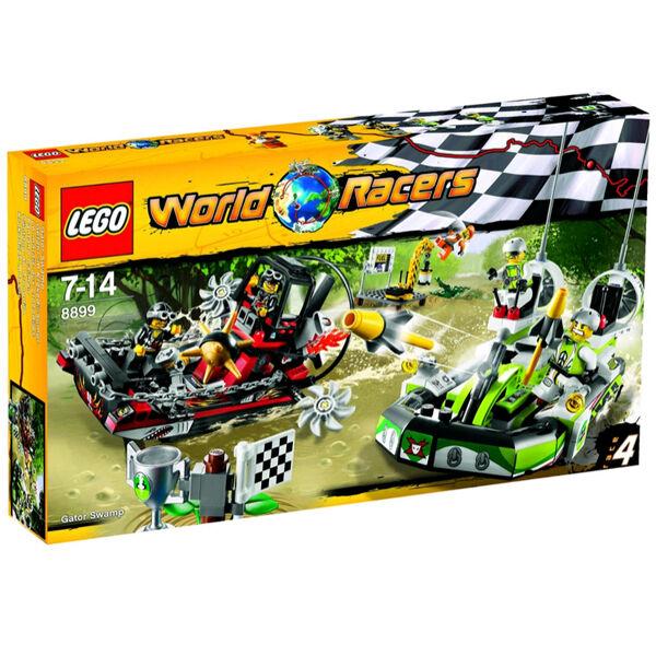 LEGO 8899 WORLD RACERS - GEFAHR IM KROKODIL-SUMPF NEU & OVP
