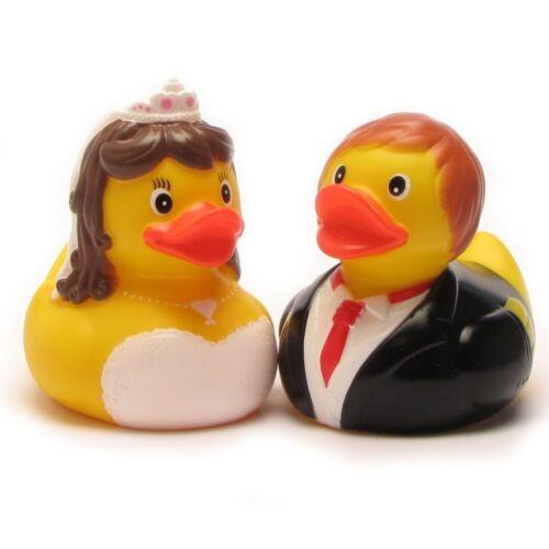 Badeenten mariés Berta /& Berthold grincer Canards Cadeaux Mariage