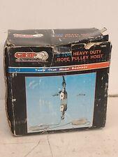 Grip 18095 2 Ton Rope Pulley Hoist