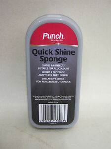 New-Punch-Quick-Shine-Sponge-Shines-And-Protects-Suitable-For-All-Colours