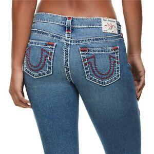 True-Religion-Women-039-s-Halle-Super-T-Skinny-Fit-Stretch-Jeans-in-Indigo