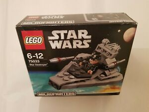 LEGO-STAR-WARS-MICROFIGHTERS-SERIES-1-75033-STAR-DESTROYER-amp-IMPERIAL-CREW-NEW