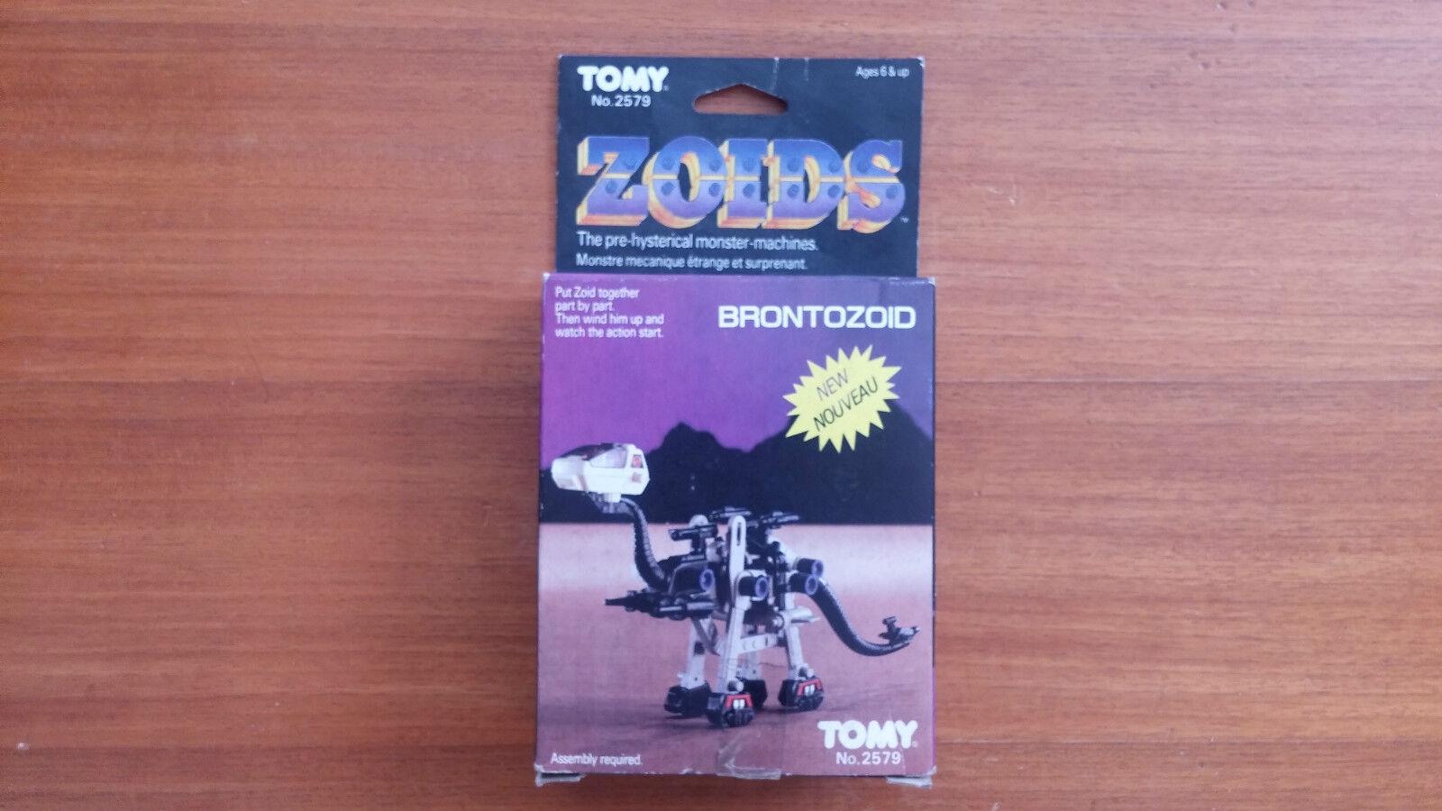 Giocattolo Vintage Zoids Brontozoid Tomy Tout nuovo Jamais scompattare