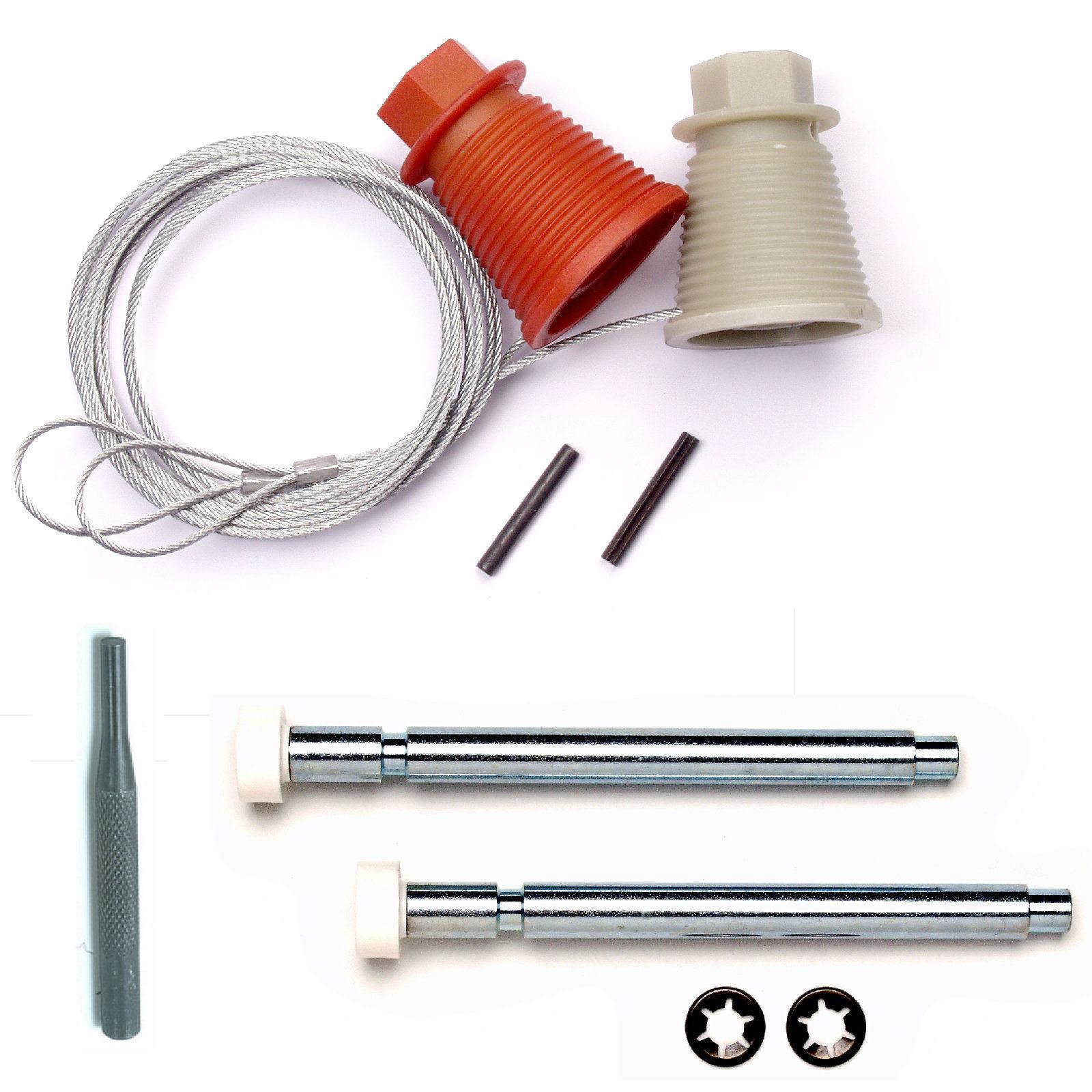 Cardale Wickes conos de Repuestos CD45 Kit de reparación de ejes de cables Rodillos Puerta De Garaje