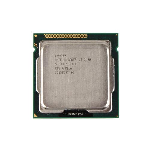 Intel Core i7-2600K 3.4GHz Quad-Core L3 8M Processor LGA1155 H2 CPU //GPU 95W #SS